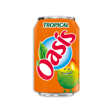 oasis tropical canette 33cl selecta