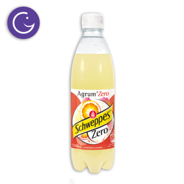 schweppes agrumes zero canette 50cl selecta