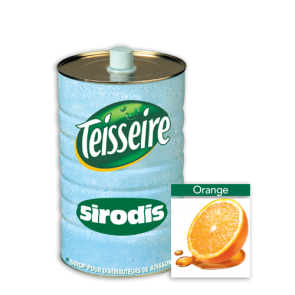 Sirop Sirodis Orange bidon 4l