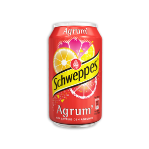 schweppes agrumes canette 33cl selecta