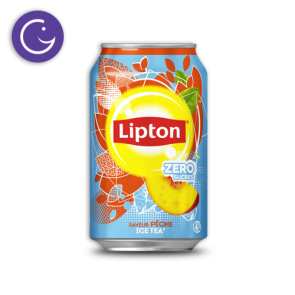 lipton ice tea light peche canette 33cl selecta
