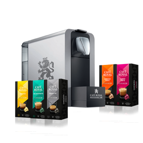 offre de noel cafe royal 1 machine compact one pro 192 capsules selecta