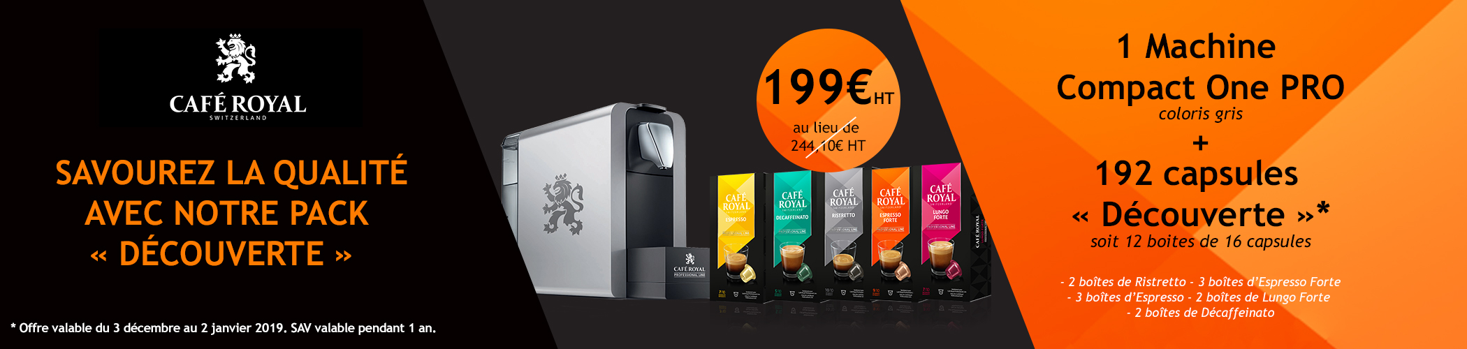 banniere homepage offre cafe royal